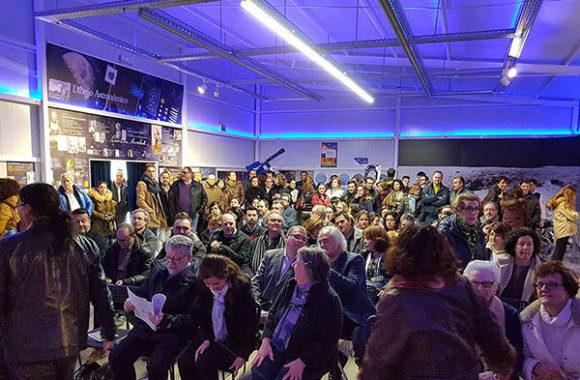 Aula Didáctica Carolina Herschel 12 marzo 2018