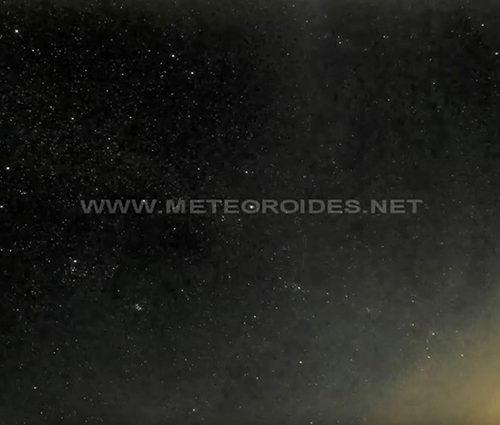 Nueva cámara para detección de meteoros
